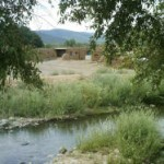 Red Willow River view Taos Pueblo